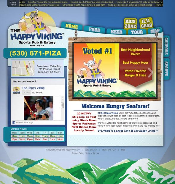 The Happy Viking™ Website