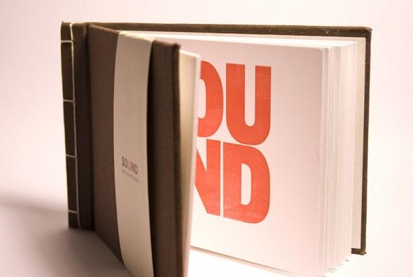 Sound – Letterpress book