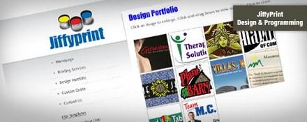Jiffyprint Website